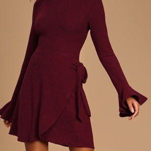 Fall wrap dresses